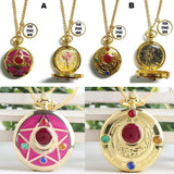 Sailormoon Pocket Watch Necklace