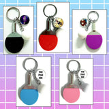 Ping Pong Keychains