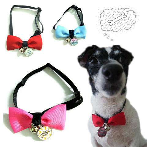 Bow Tie Pet Collars