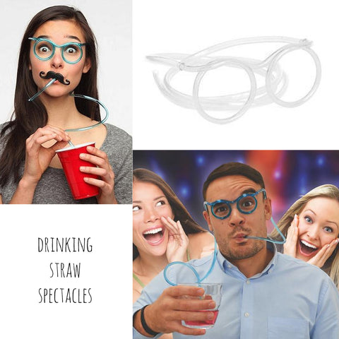 Drinking Straw Spectacles