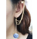 Tassel Earrings Cuffs
