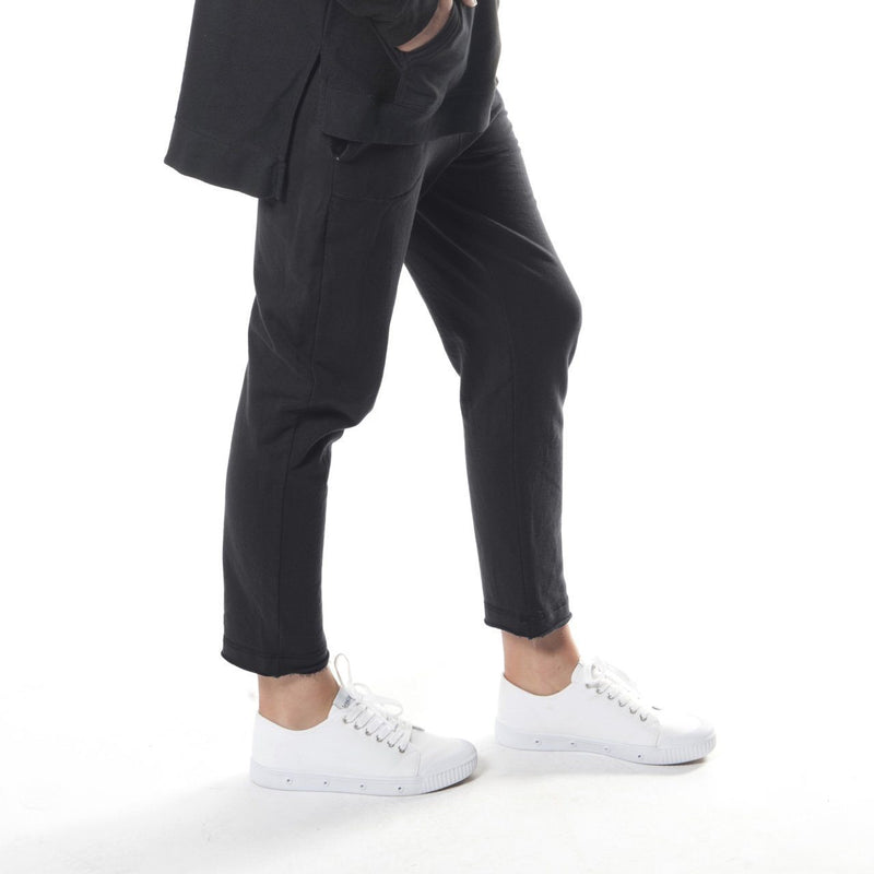 Fleecy Cigarette Pant in Black - miles-from - Pants