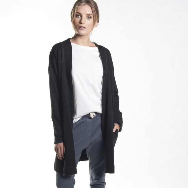 Slouch Cardigan in Black