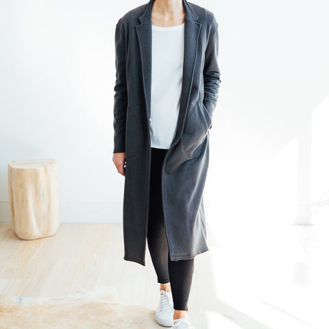 Everyday Duster - Charcoal - Miles From - 1
