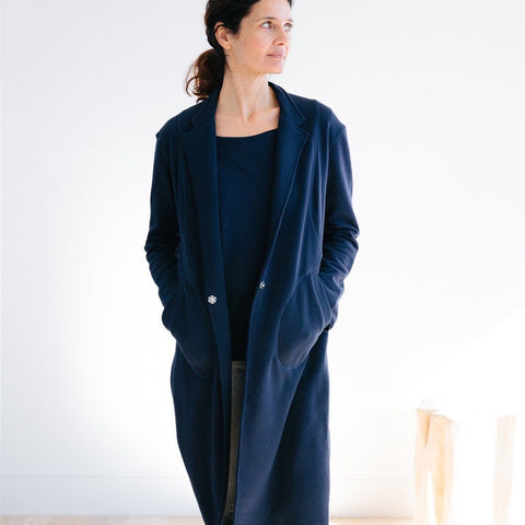 Everyday Duster - Navy - Miles From - 1