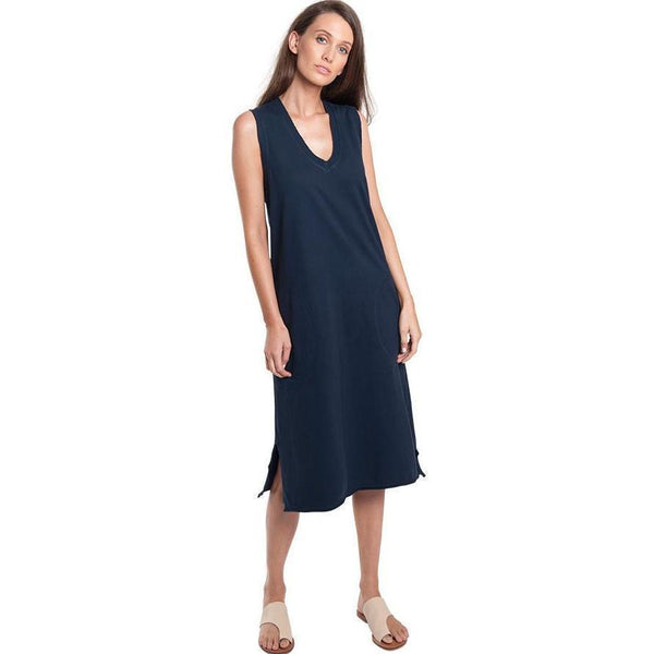 Dress - Raw V Sweat Dress