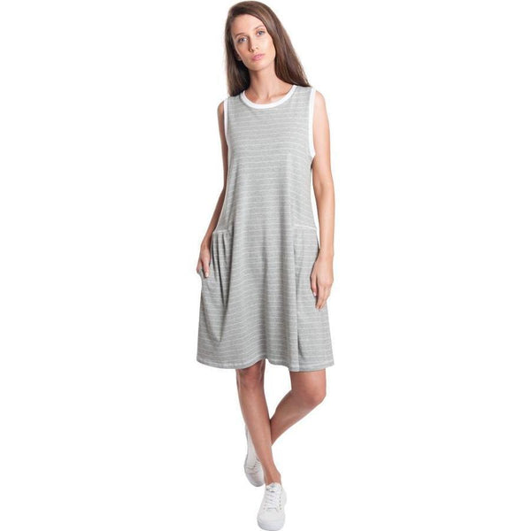 Dress - Striped Tank Dress