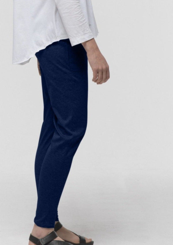 Gathered Lounge Pant in Navy - Miles From