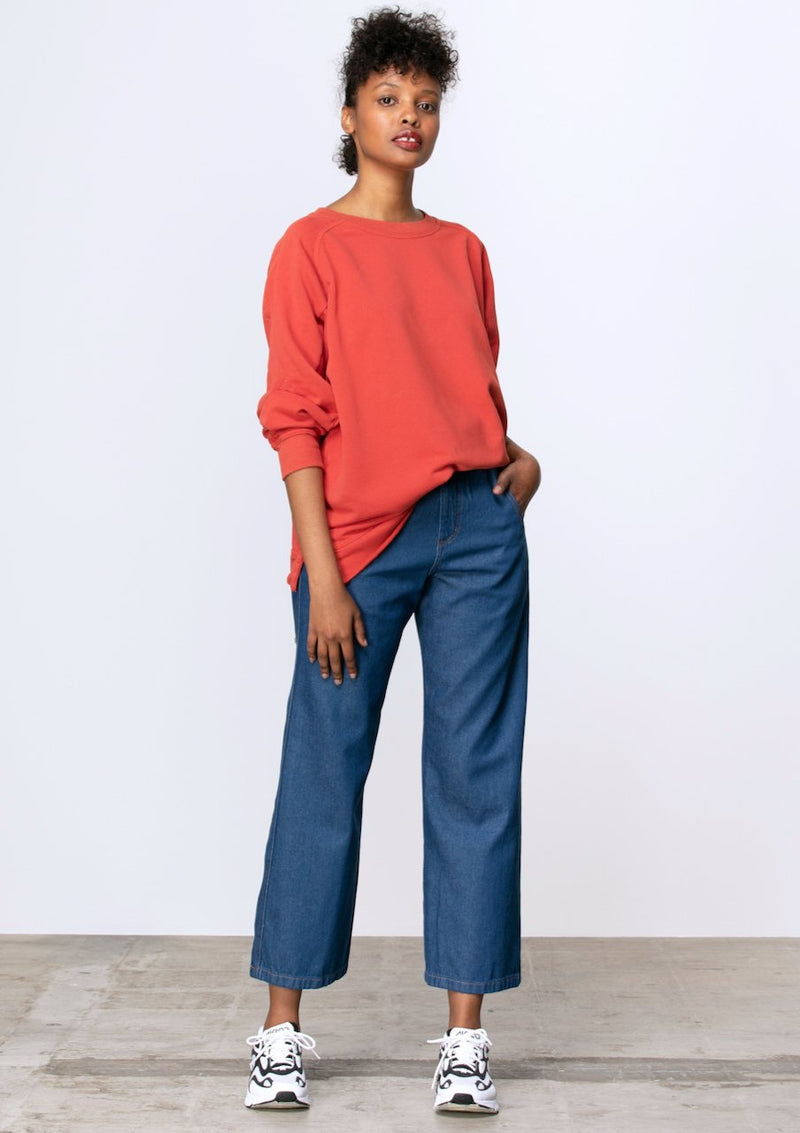 High Waisted Wide Leg Jean - Miles From