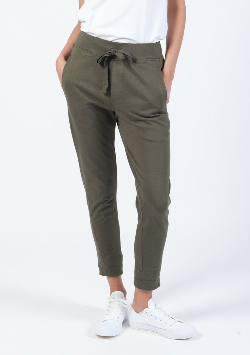 Rugby Cruiser Pant in Khaki - Miles From