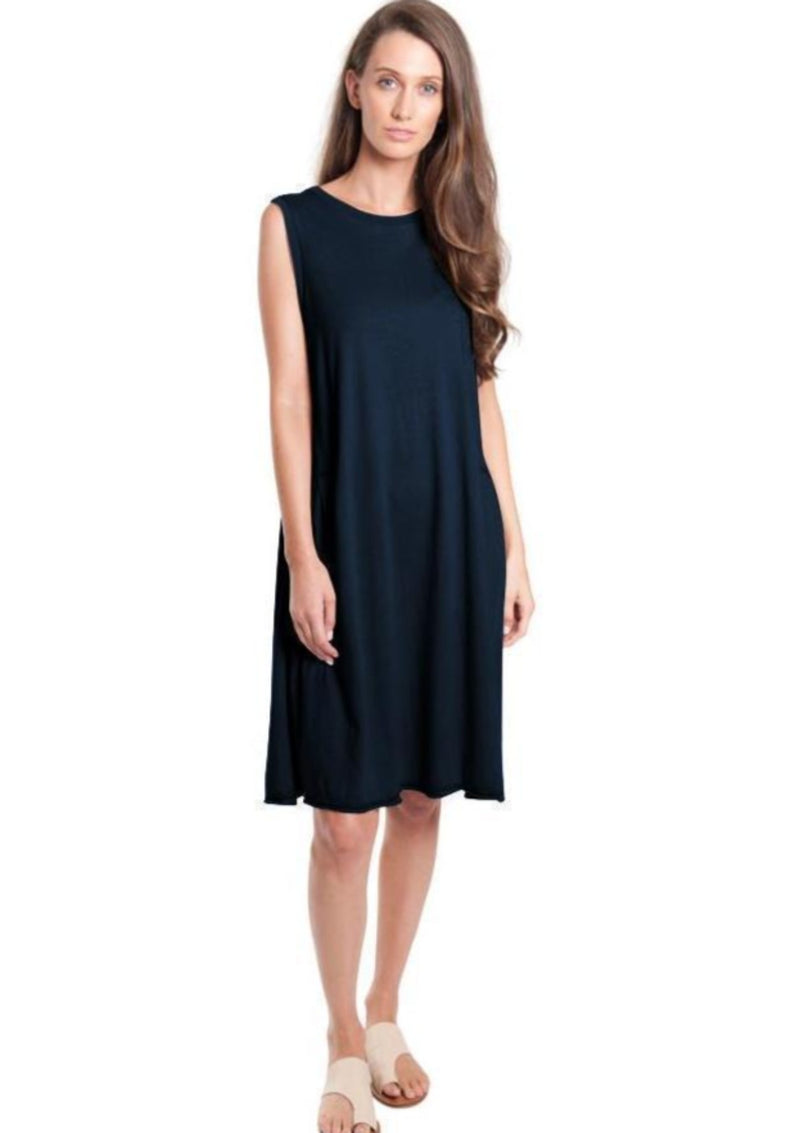 Side Tuck Tank Dress - Miles From