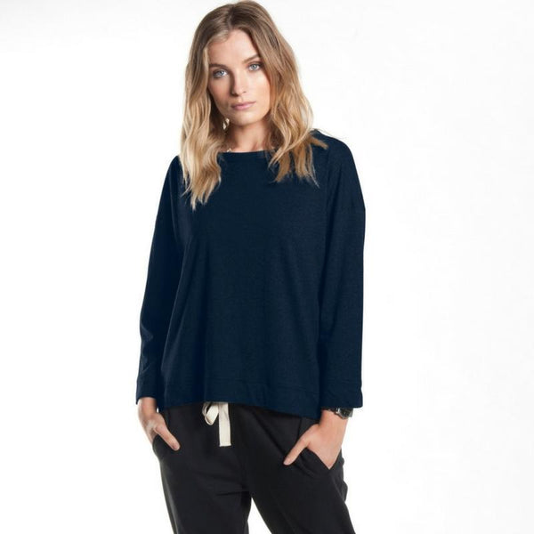 Sweat - Wide Sleeve Tee In Ink