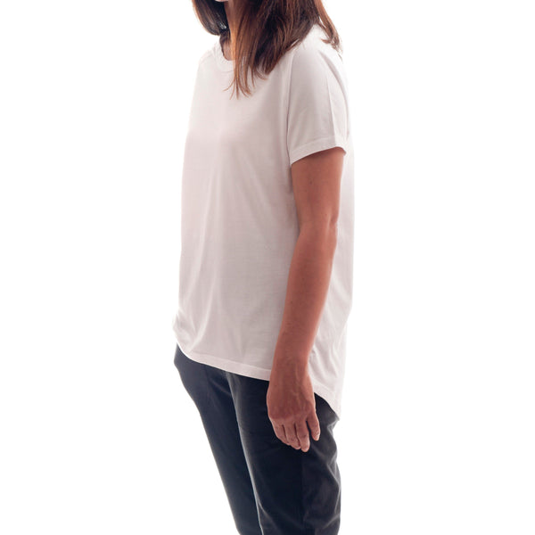 T-Shirt - Raglan Sleeve Scoop Back Tee