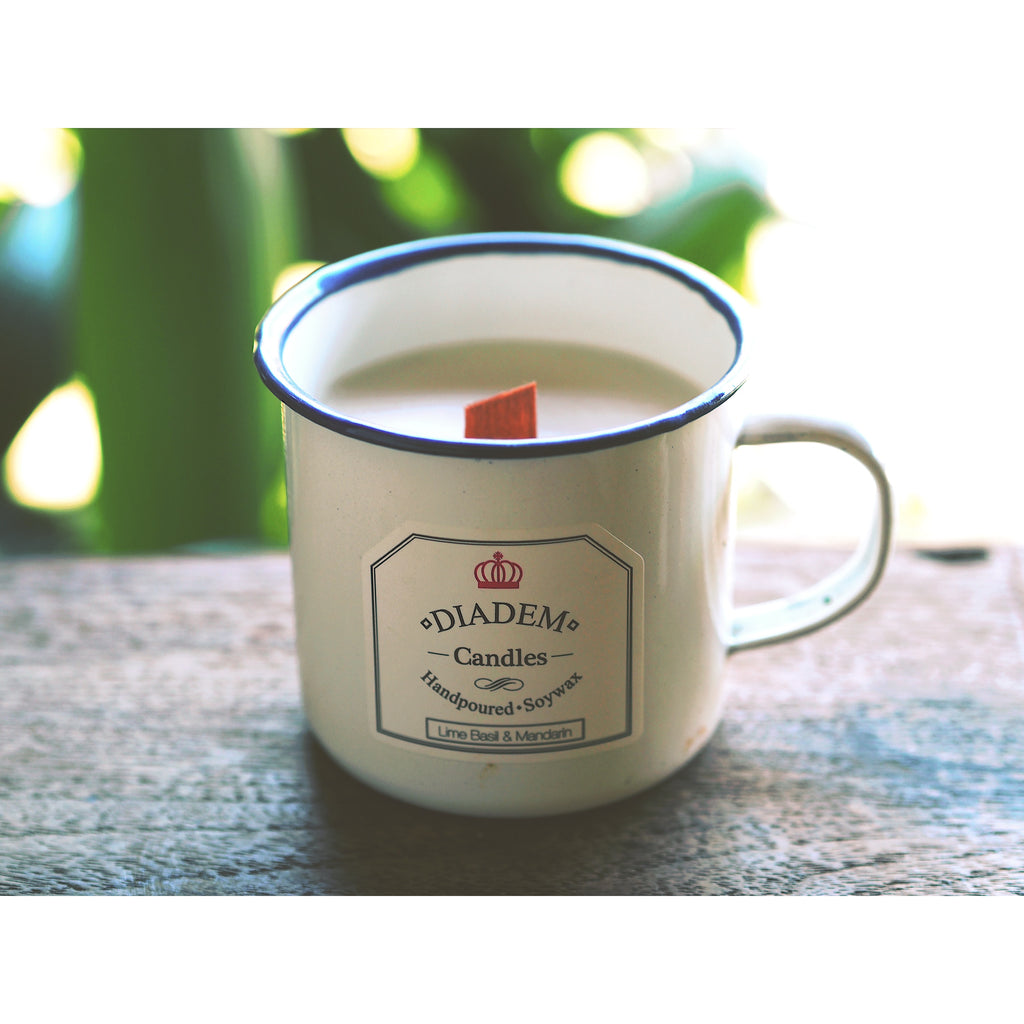 Enamel Mug Candles SALE