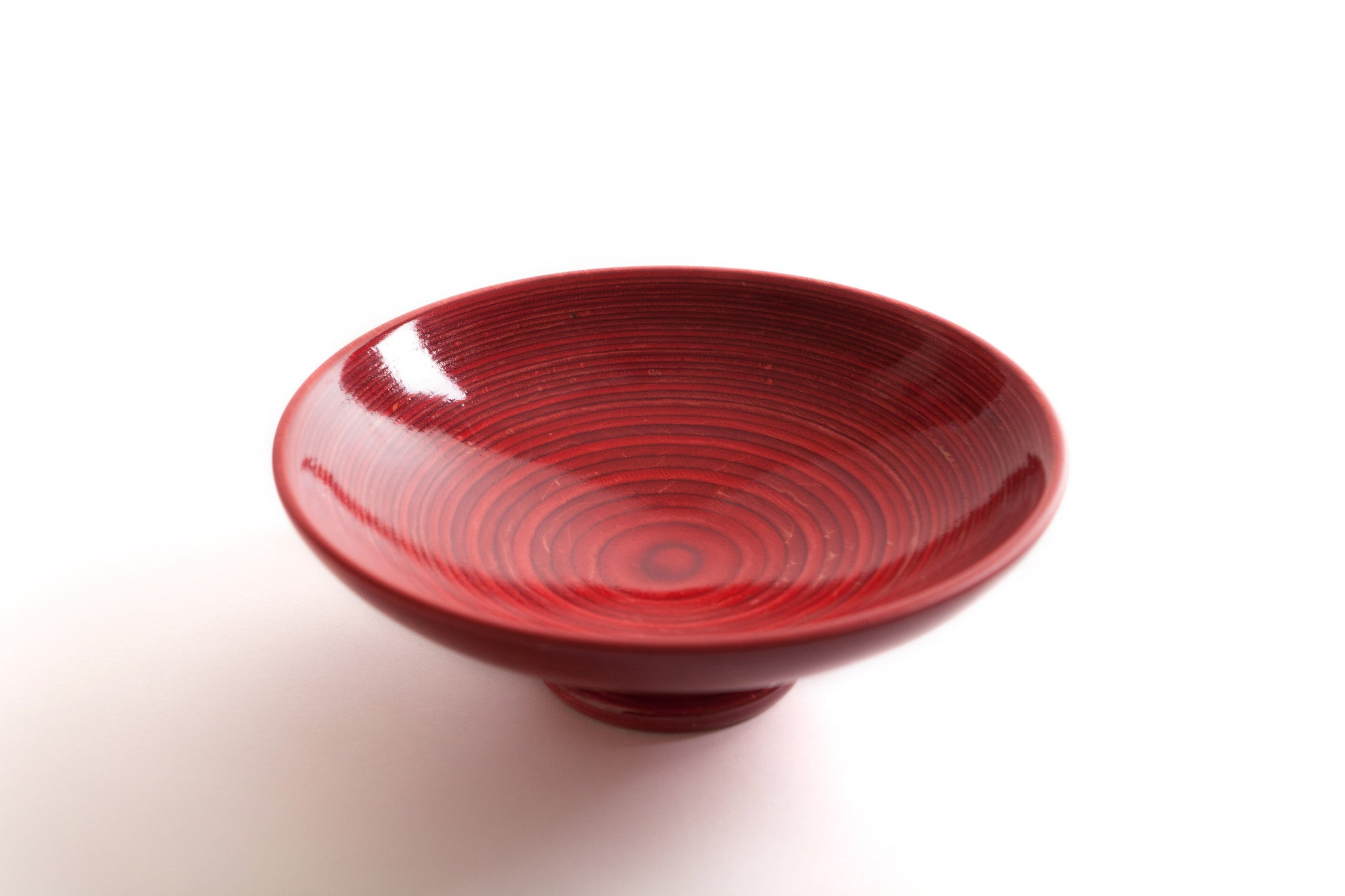 Richard Ruehle Red Birch Veneer Bowl