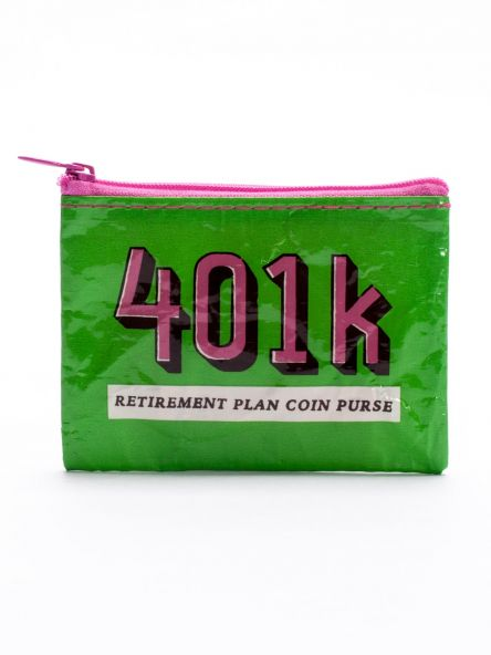 BlueQ 401k Coin Purse