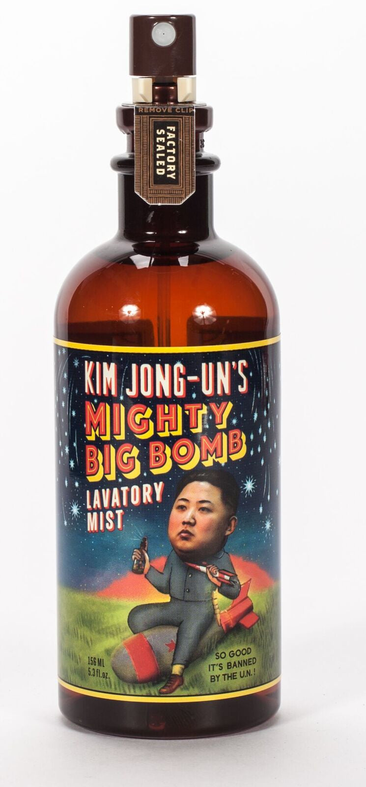 BlueQ Lav Mist: Kim Jong-Un's Mighty Big Bomb