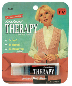"BlueQ Breath Spray ""Dr. Diane Dimple's Instant Therapy"""