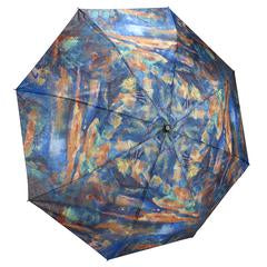 "Galleria Folding Umbrella (Cezanne, ""The Brook"")"