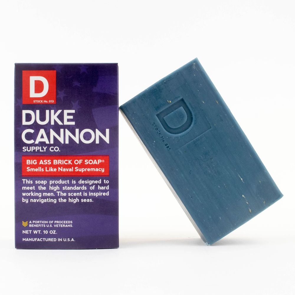 "Duke Cannon ""Navel Supremacy"" Big Ass Soap"