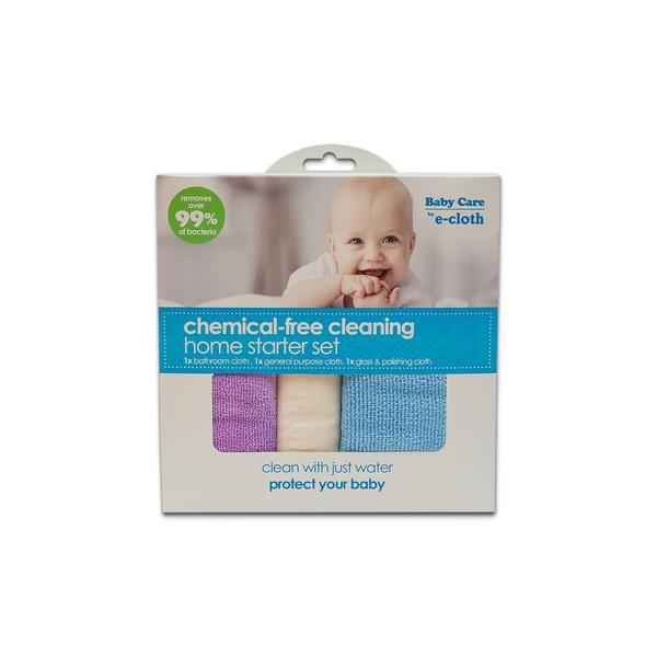 E-cloth Baby Care Home Starter Set