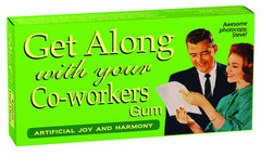 BlueQ Gum: Get Along With Your Co-workers