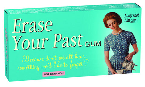 "BlueQ Gum: ""Erase Your Past"""