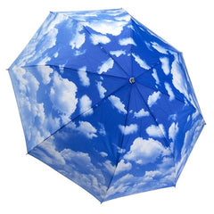 "Galleria Folding Umbrella ""Clear Skies"""