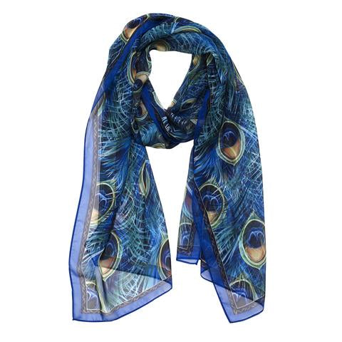 "Galleria Scarf ""Peacocks"""