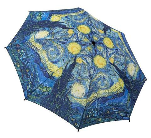 "Galleria Folding Umbrella Van Gogh's ""Starry Night"""