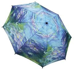 "Galleria Folding Umbrella Monet's ""Water Lilies"""