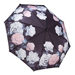 "Galleria Folding Umbrella ""Vintage Rose"""