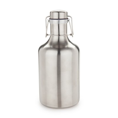 True Stainless Steel Grizzly Growler
