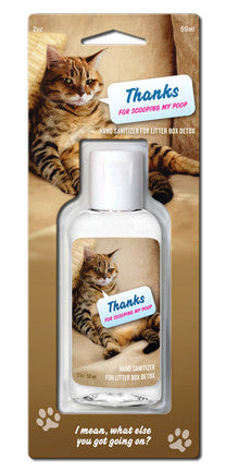 "BlueQ Hand Sanitizer ""Thanks For Scooping My Poop"""