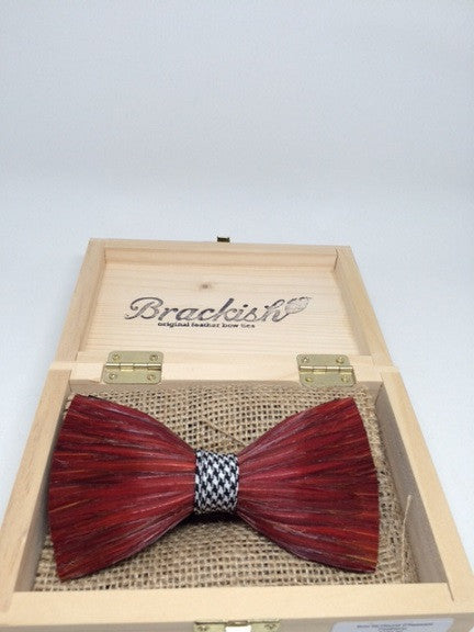 Brackish Feather Bow Ties: Hound Model (in-store purchase only)