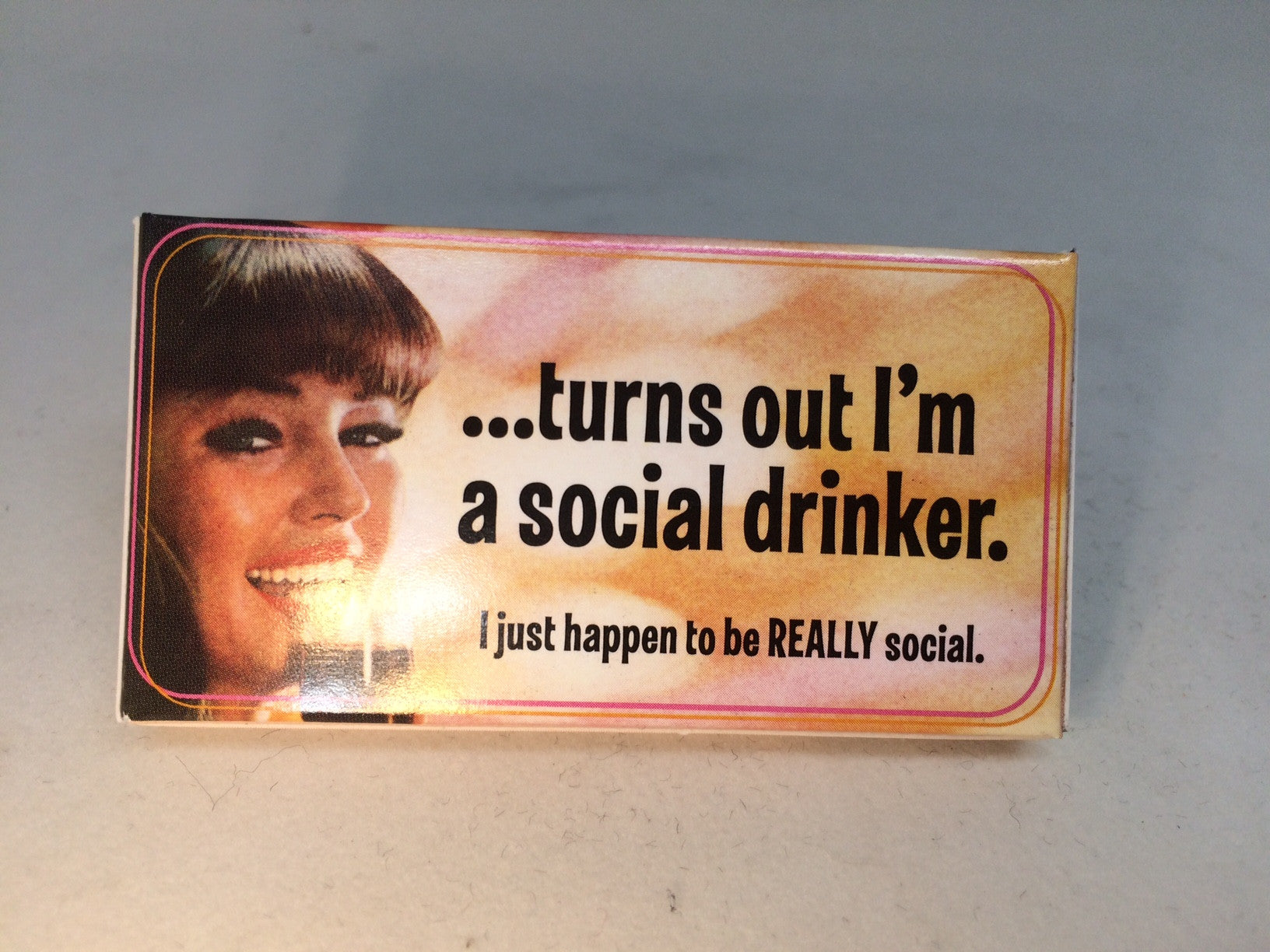 BlueQ Gum: I'm A Social Drinker. I Just Happen to be Really Social