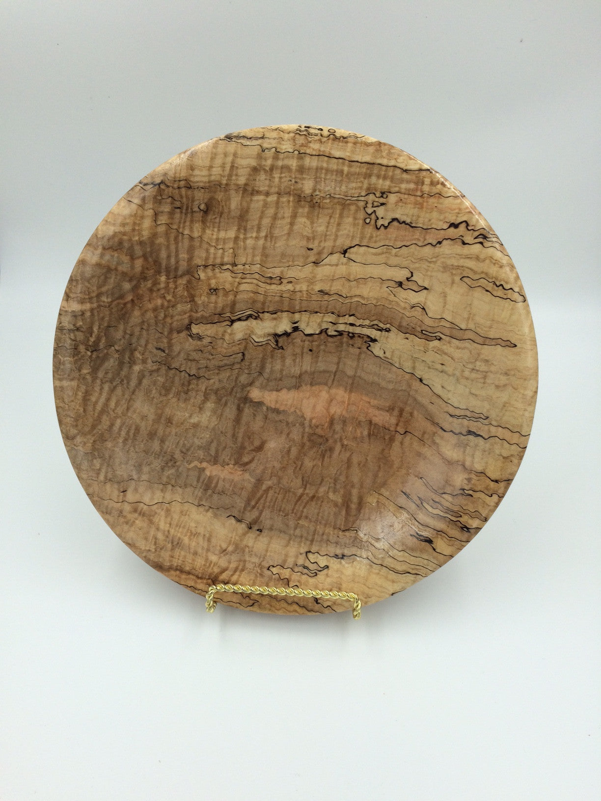 Local Artist of the Week: Richard Ruehle-Spalted Maple Platter