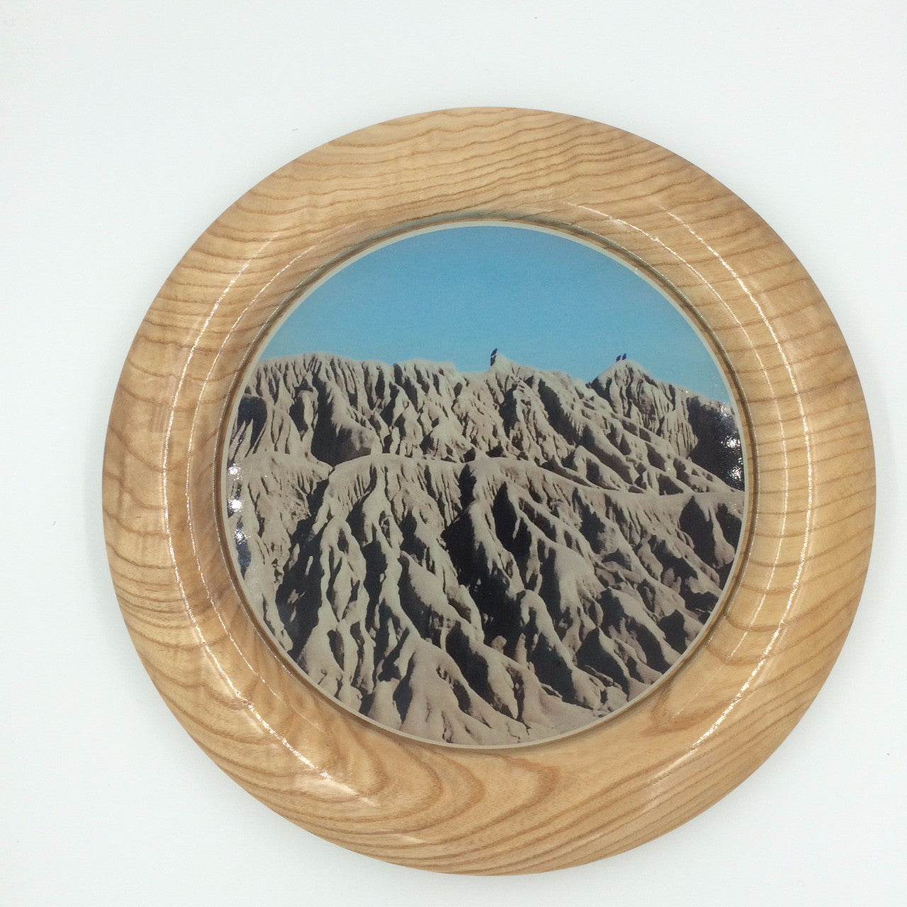 Local Artist of the Week: Richard Ruehle-Personalizable Curly Maple Platter
