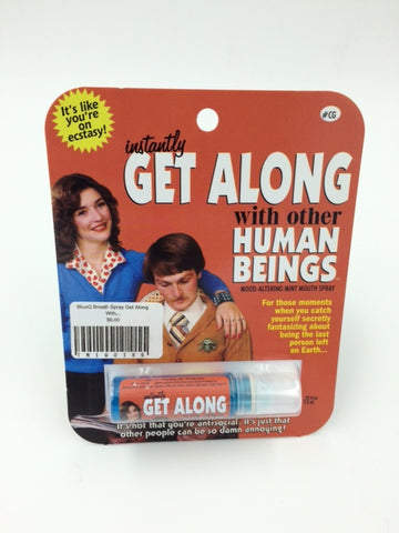 "BlueQ Breath Spray ""Instantly Get Along With Other Human Beings"""