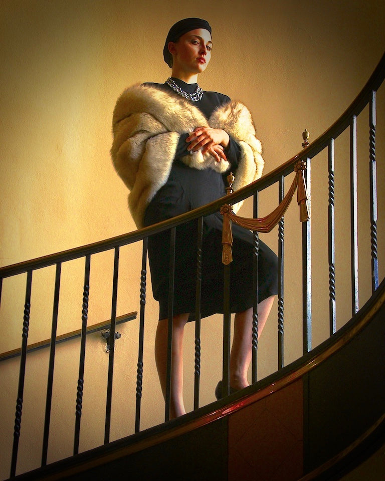 "Local Artist: Jim Pilbeam ""Art Deco Woman"" Photograph"