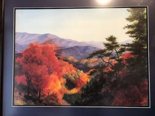 "Jim Gray ""Smokey Mountain High"" Print (Framed)"