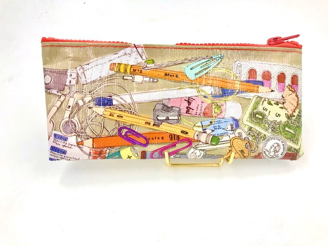 BlueQ Junk Drawer Pencil Case