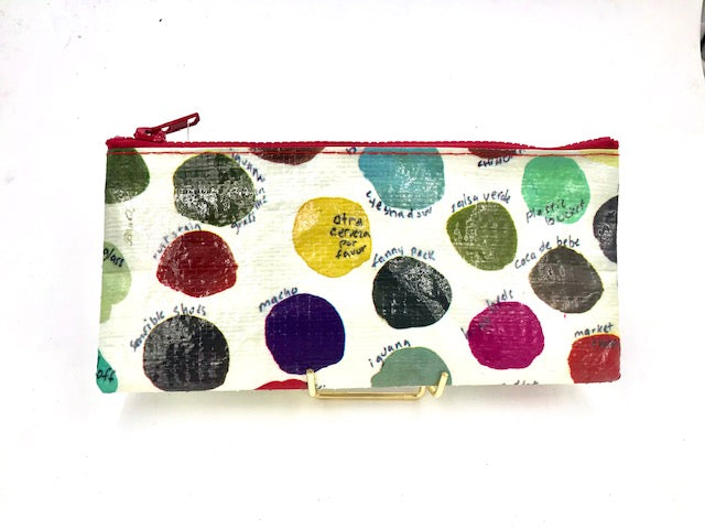 "BlueQ Pencil ""Spots and Doodles"" Pencil Case"
