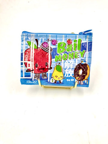 BlueQ Bail Money Coin Purse