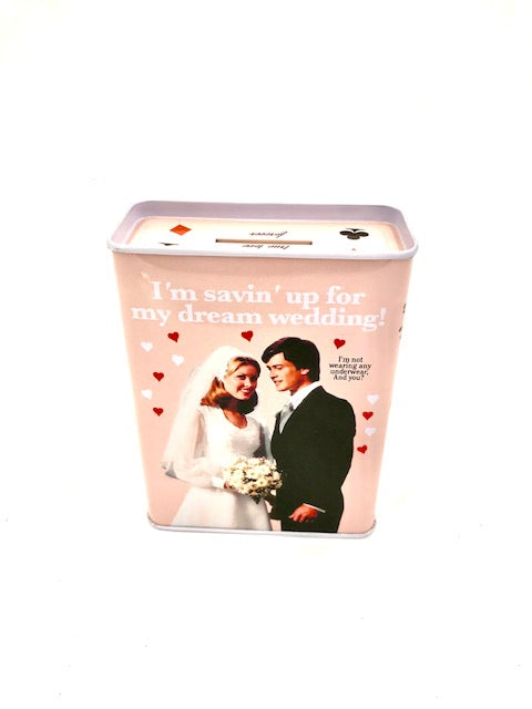 BlueQ Wedding Coin Bank