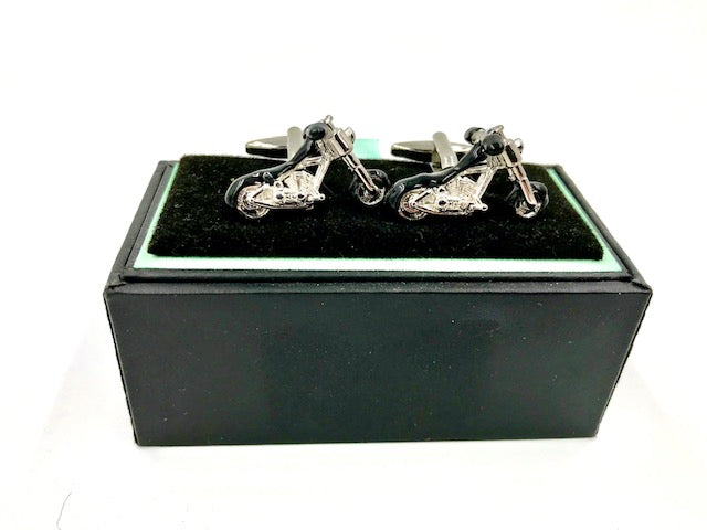 Cuff links-Motorcycle