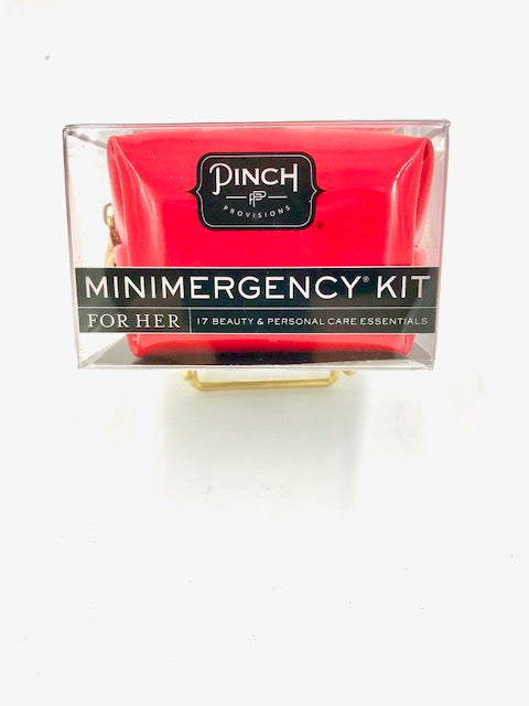 Pinch Minimergency Kit for Her-Red