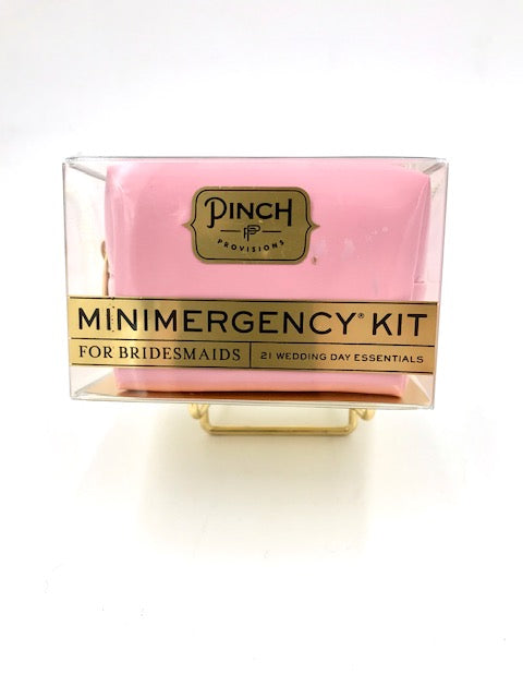 Pinch Minimergency Kit for Bridesmaids in Pink