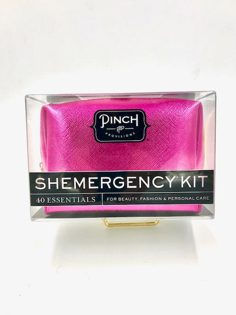 Pinch Shemergency Kit-Metallic Pink