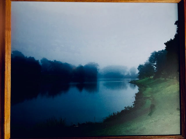 "James Pilbeam: ""Fog on the Old Reservoir"" Photograph"